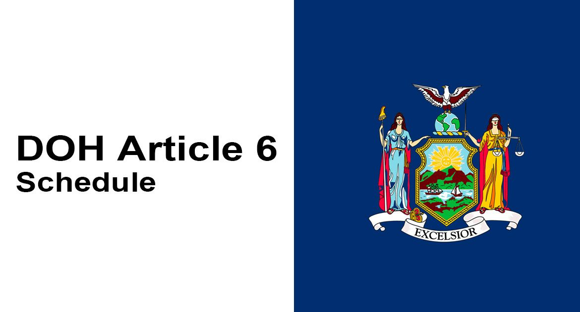 2019 Article 6 State Aid Schedule
